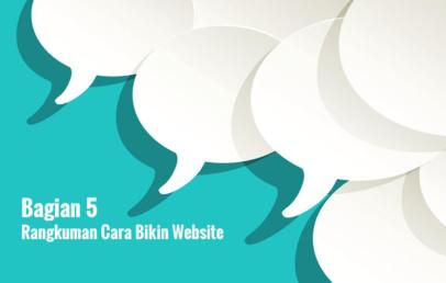 5 cara membuat website