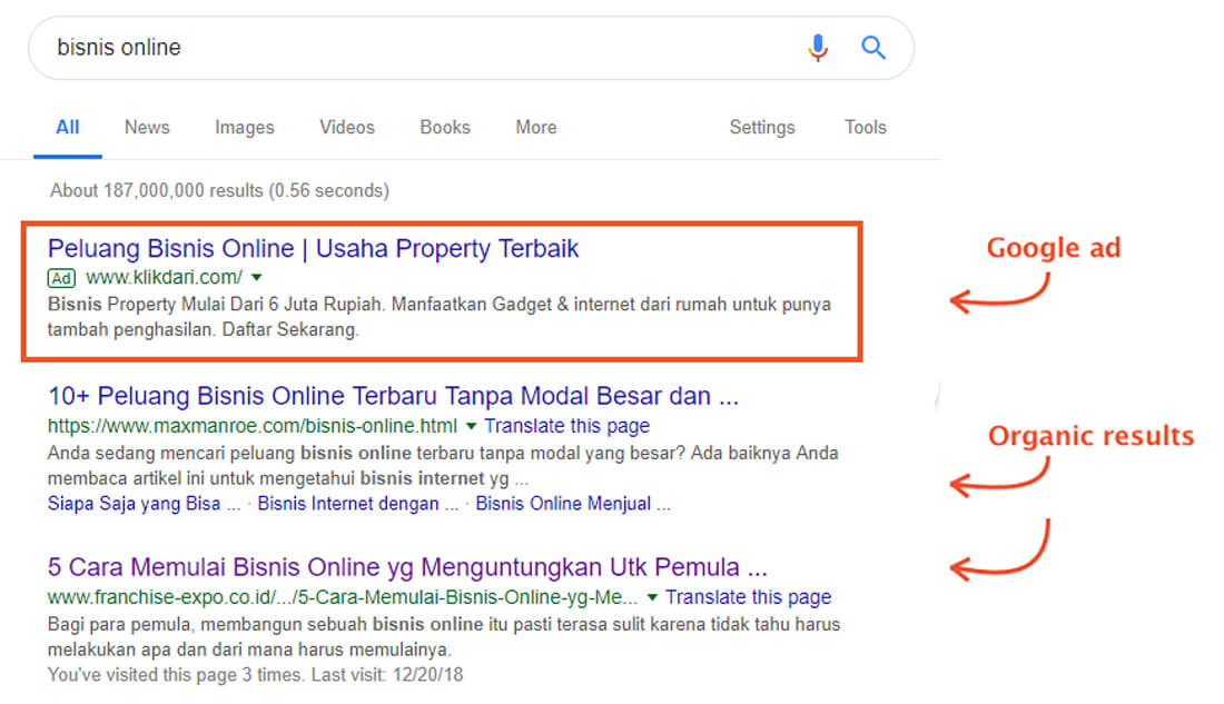 Google Ads indonesia