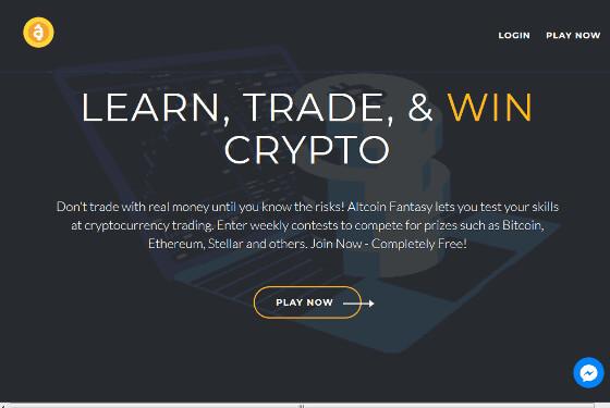 Altcoin Fantasy - Free Crypto Trading Simulator / Fantasy Game - Win Bitcoin!