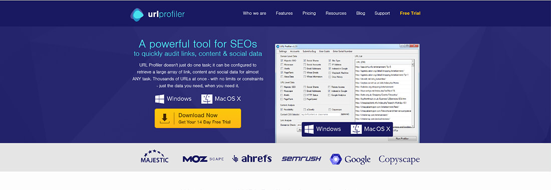 URL Profiler