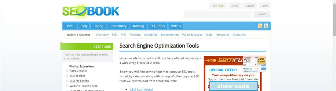 SEO Book's Free SEO Tools