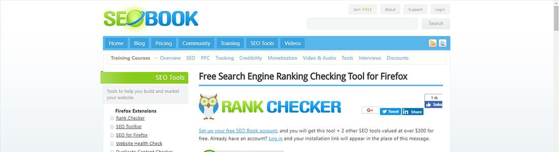 Rank Checker