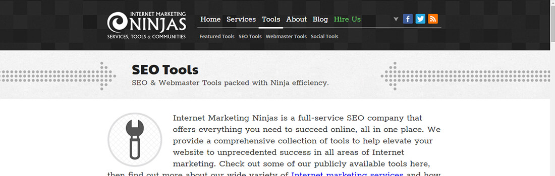 Ninjas SEO Tools