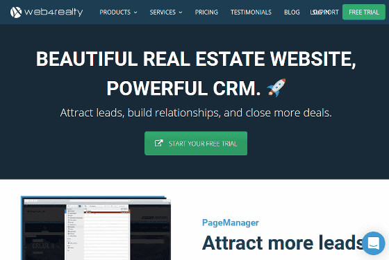 Web4Realty | Real Estate Websites | Real Estate CRM | IDX Solution