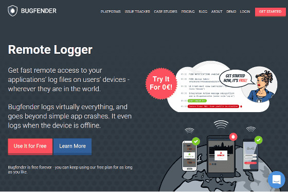 Bugfender | Cloud Storage for Your App Logs