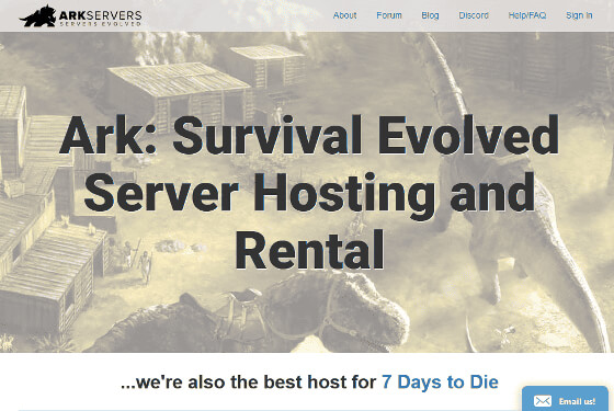 ArkServers.io: Ark: Survival Evolved server hosting and rental