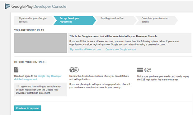 Google Play Developer Distribution Agreement English