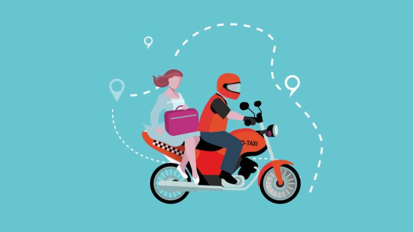 Perkembangan Pesat Transportasi Ojek Online di Indonesia