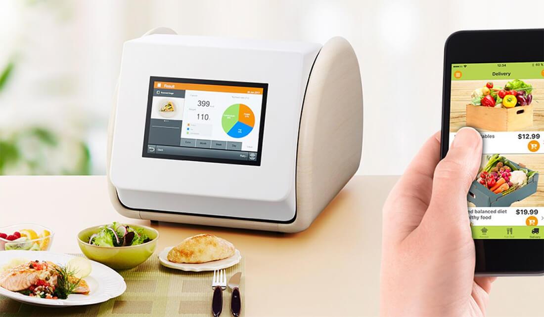 Scanner kalori untuk mengetahui jumlah kalori pada makanan