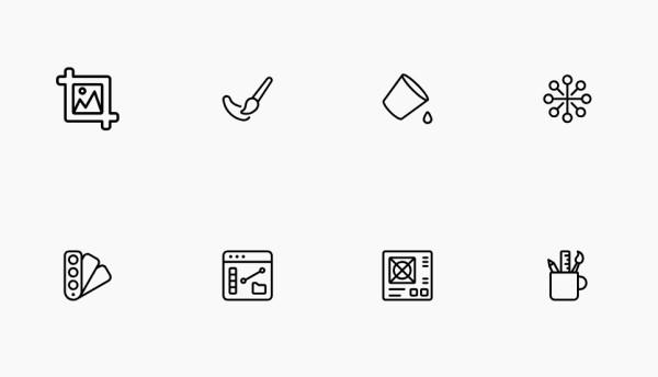 100 Free IOS Icons