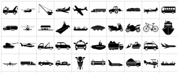 Material icon gratis yang sering digunakan ketika membuat brosur atau situs website.