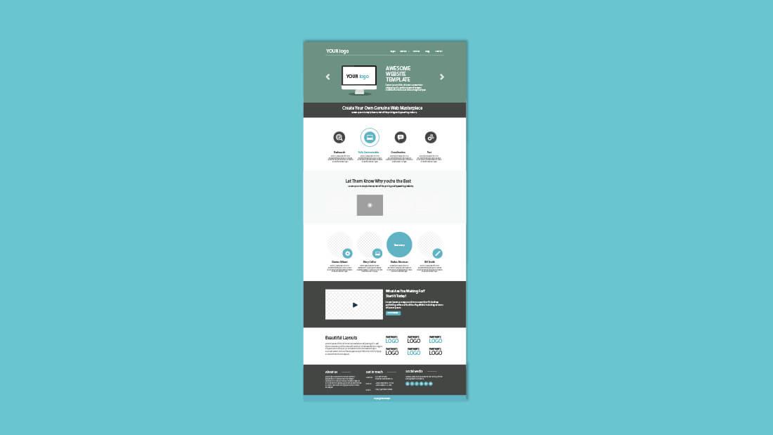 Website Templates Untuk Tampilan Situs Profesional
