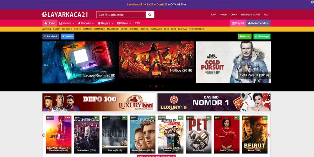 Website Download Film Indonesia & Bollywood Terbaru