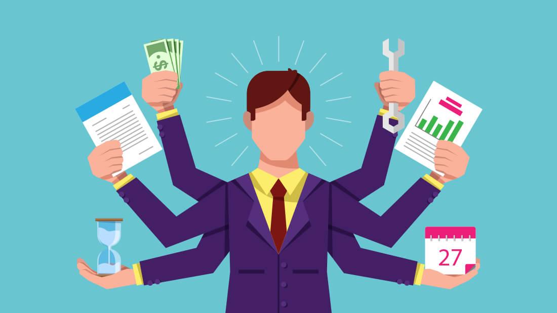 Manajemen bisnis ialah proses dalam merencanakan, mengarahkan, mengorganisir dan mengontrol setiap kegiatan yang berkaitan dengan bisnis yang sedang dikerjakan.