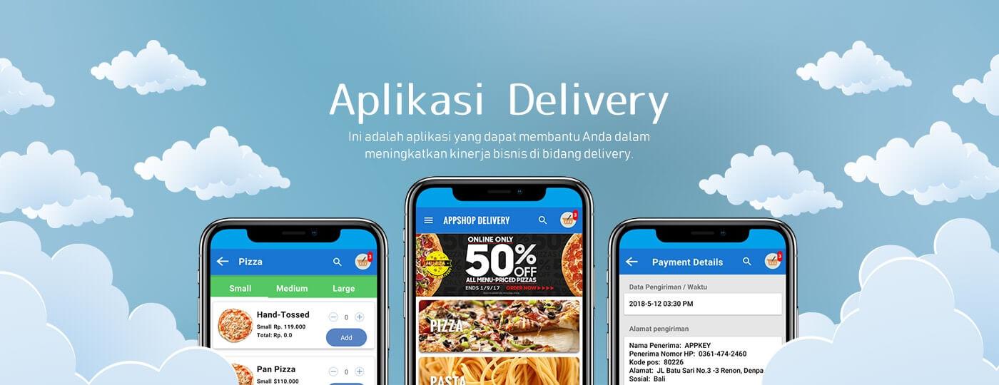 Delivery - Jasa Pembuatan Aplikasi