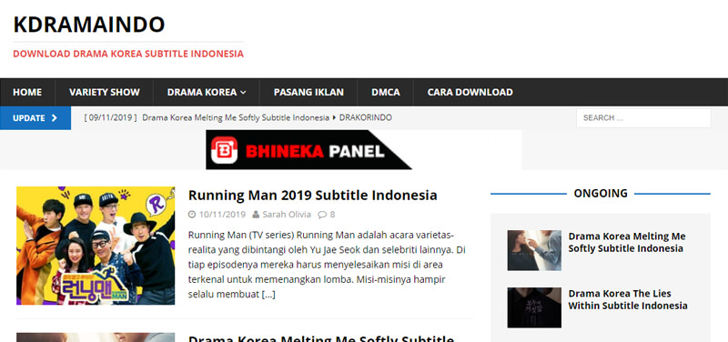 Web Oppa.kdramaindo.tv