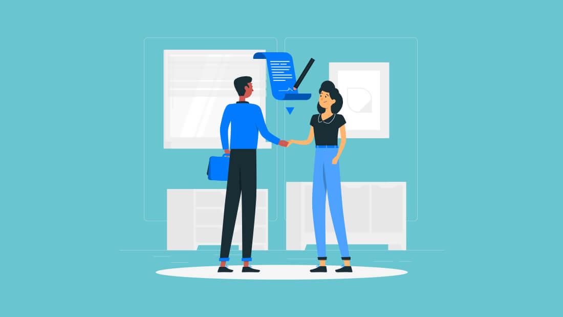 Saat masuk bekerja di sebuah perusahaan pertama kali sebelumnya pasti anda menandatangani  Contoh Surat Perjanjian Kerja Waktu Tertentu Doc