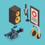 konten audio dan video